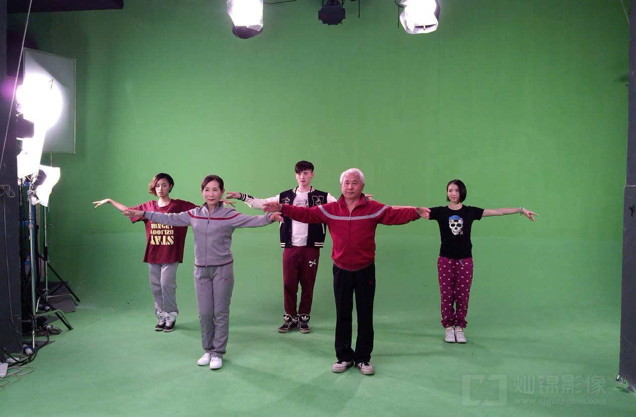 上海灿锦影棚舞蹈抠像